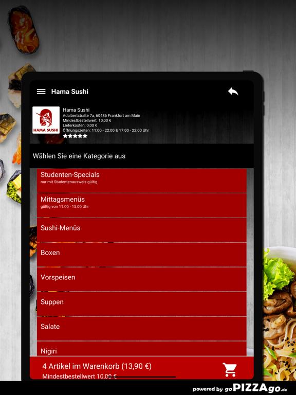 Hama Sushi Frankfurt am Main screenshot 8
