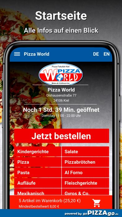 Pizza World Kiel screenshot 2