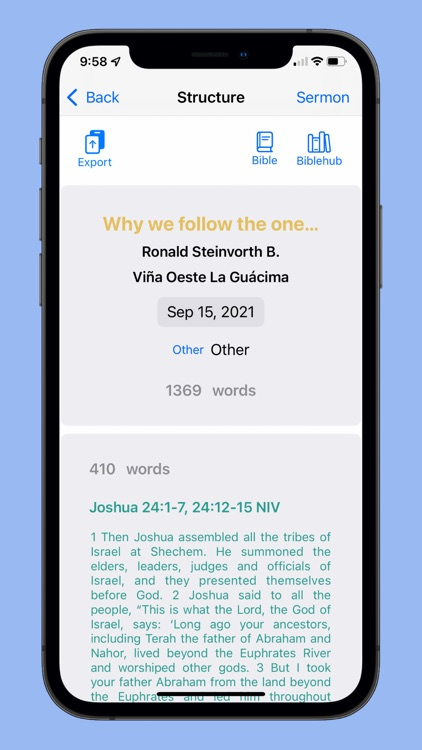 Sermon Maker screenshot-7