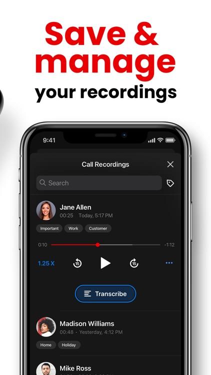 Call Recorder App: RecMyCalls screenshot-9