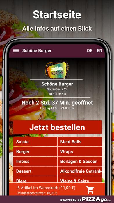 Schöne Burger Berlin screenshot 2