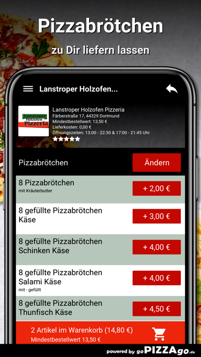 Lanstroper Pizza Dortmund screenshot 5