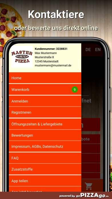 Master Pizza Jena screenshot 3