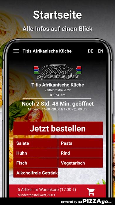 Titis Afrikanische Küche Ulm screenshot 2