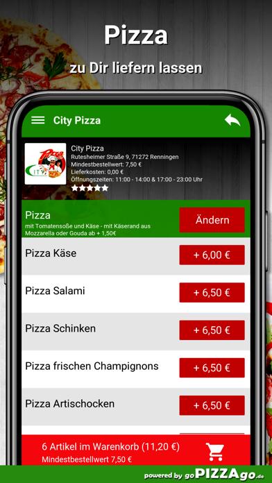 City Pizza Renningen screenshot 5