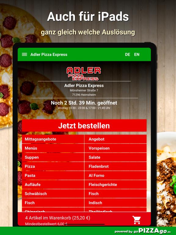 Adler Pizza Express Heimsheim screenshot 7