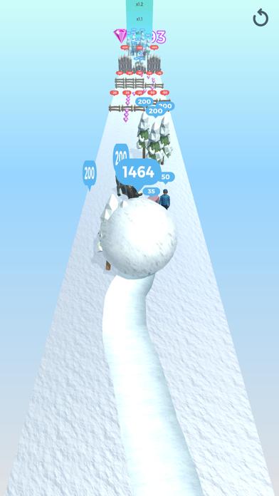 Snowball Effect 3D screenshot 3