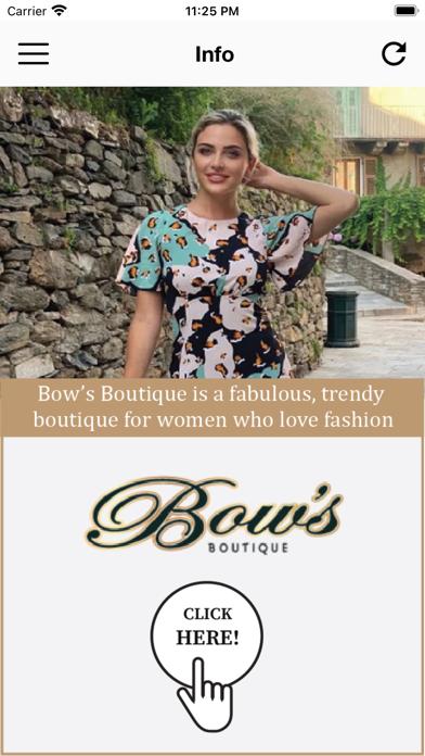 Bows Boutique screenshot 1