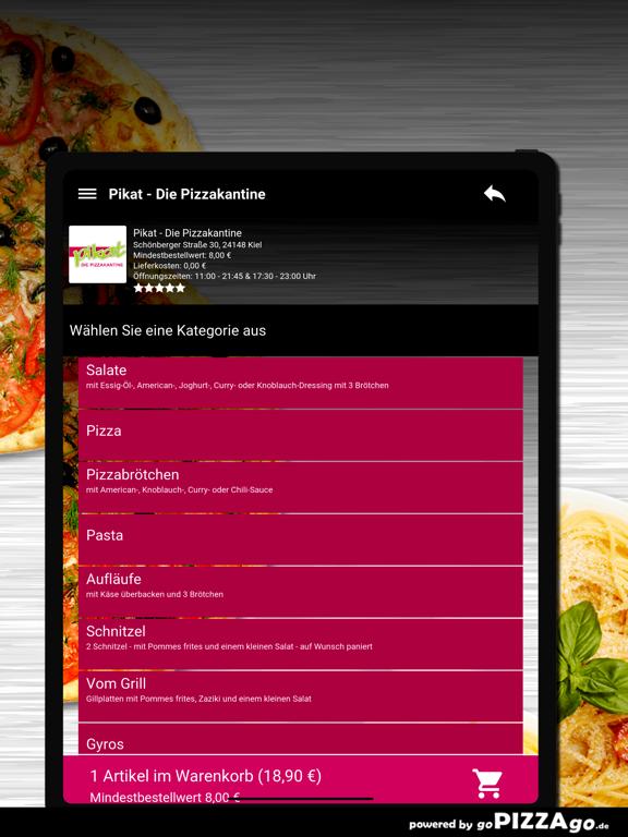 Pikat - Die Pizzakantine Kiel screenshot 8