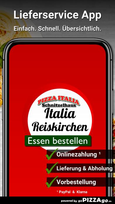 Pizza Italia Reiskirchen screenshot 1