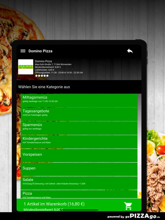 Domino Pizza Winnenden screenshot 8