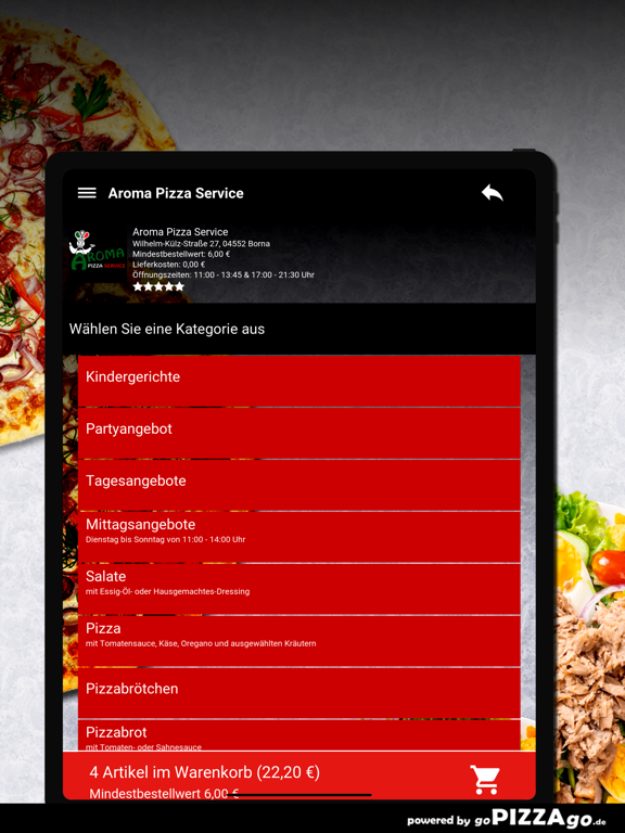 Aroma Pizza Service Borna screenshot 8