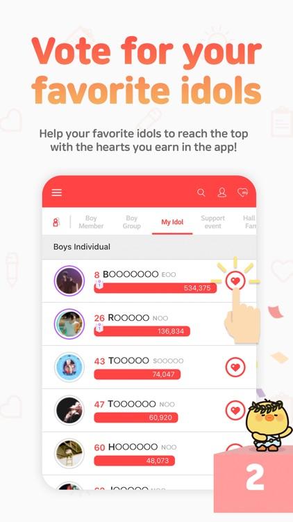 CHOEAEDOL : Kpop idol rankings