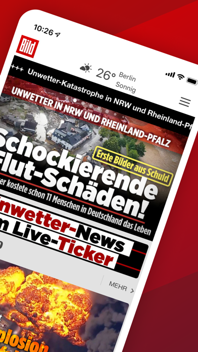 Screenshot #2 pour BILD News - Nachrichten live