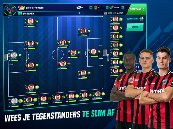 Soccer Manager 2022 iPad app afbeelding 4