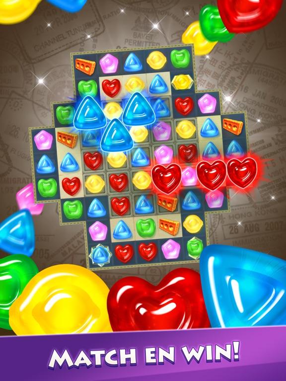 Gummy Drop! Match 3-puzzels iPad app afbeelding 1