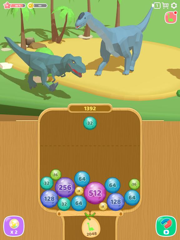 恐竜 2048 3Dのおすすめ画像1