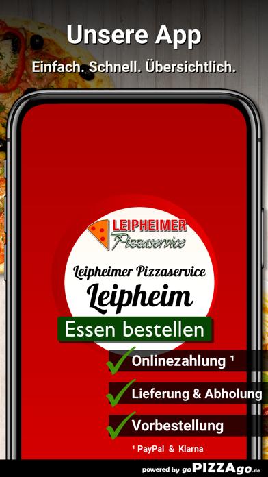 Leipheimer Pizzaservice Leiphe screenshot 1