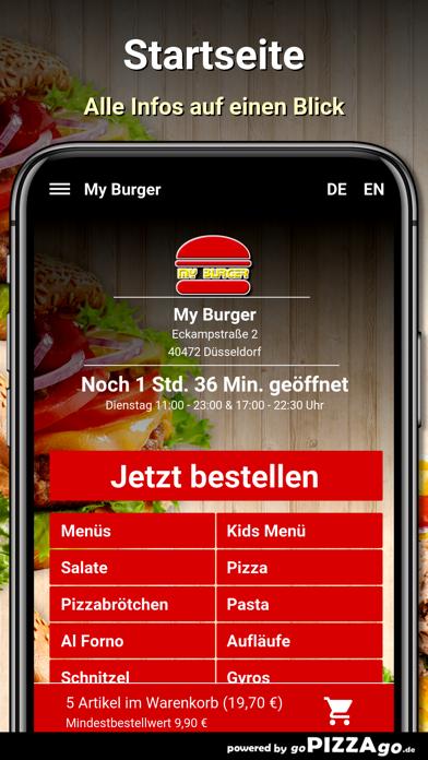 My Burger Düsseldorf screenshot 2