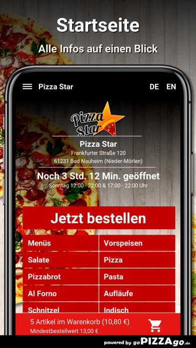Pizza Star Bad Nauheim screenshot 2