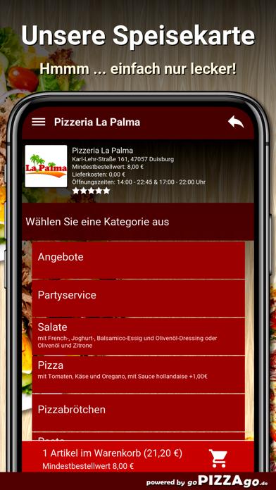 Pizzeria La Palma Duisburg screenshot 4