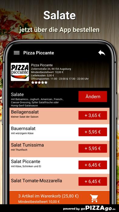 Pizza Piccante Augsburg screenshot 5