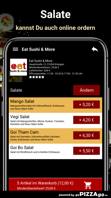 Eat Sushi & More Erlangen screenshot 5