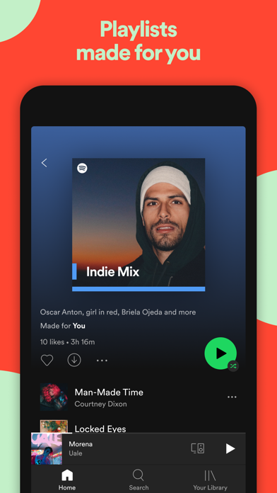 Spotify: Discover new music Screenshot on iOS