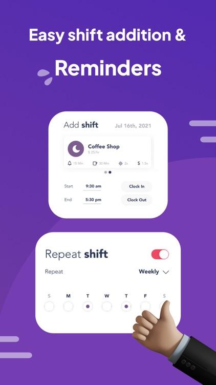 Work Shift Calendar: WorkTime screenshot-3