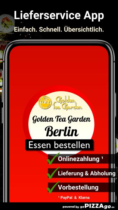 Golden Tea Garden Berlin screenshot 1