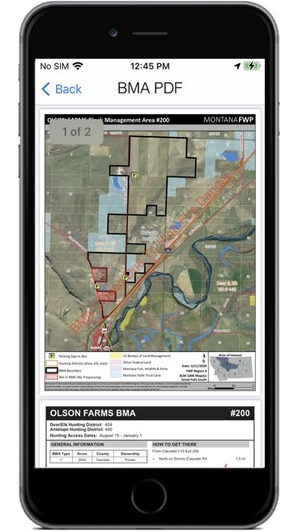 Montana Hunting Access 2021 screenshot-4