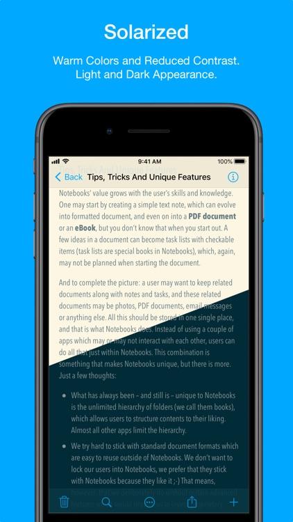 Notebooks – Write and Organize screenshot-4