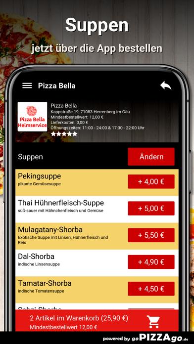 Pizza Bella Herrenberg im Gäu screenshot 5