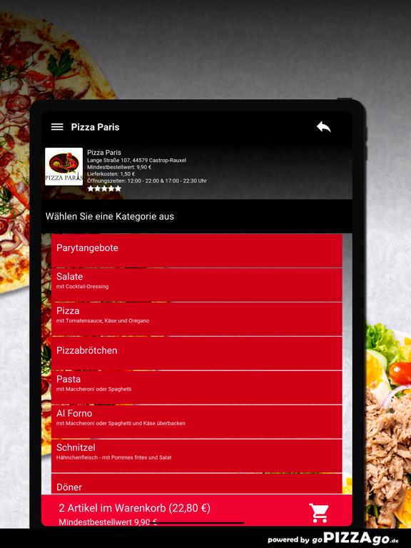 Pizza Paris Castrop-Rauxel screenshot 8