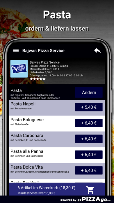 Bajwas Pizza Service Leipzig screenshot 6