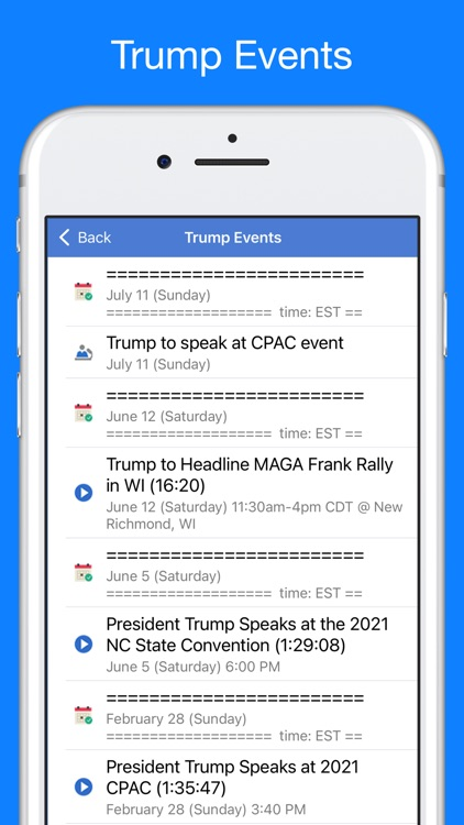 Trump Tracker: News & Politics screenshot-8