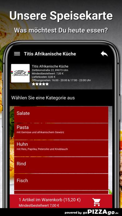 Titis Afrikanische Küche Ulm screenshot 4