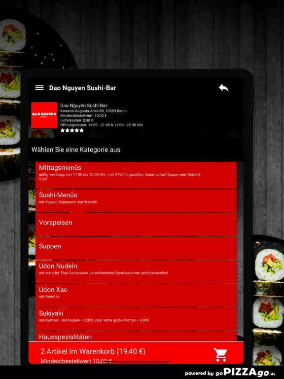 Dao Nguyen Sushi-Bar Berlin screenshot 8