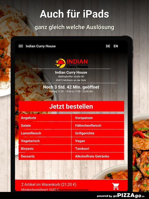 Indian Curry House Mülheim screenshot 7