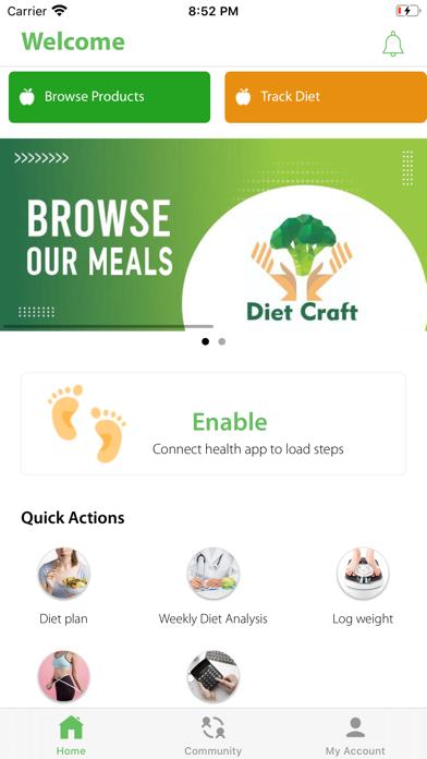 Diet Craft screenshot 1