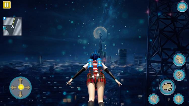 Anime Girl Yandere School Life screenshot-9