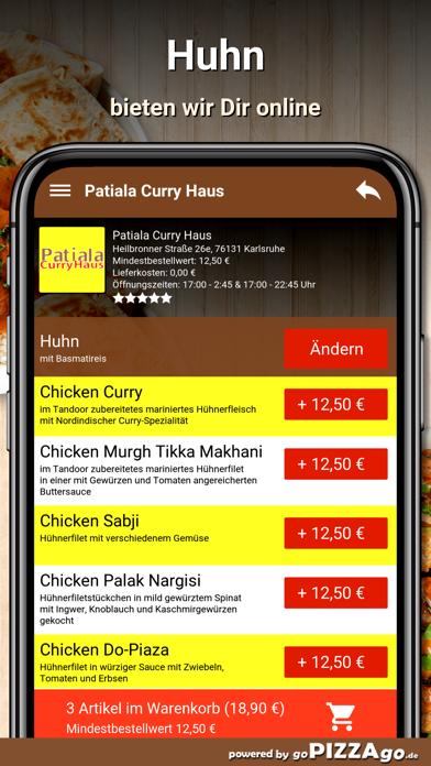 Patiala Curry Haus Karlsruhe screenshot 5