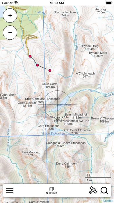 The Cairngorms Outdoor Map Pro screenshot 2