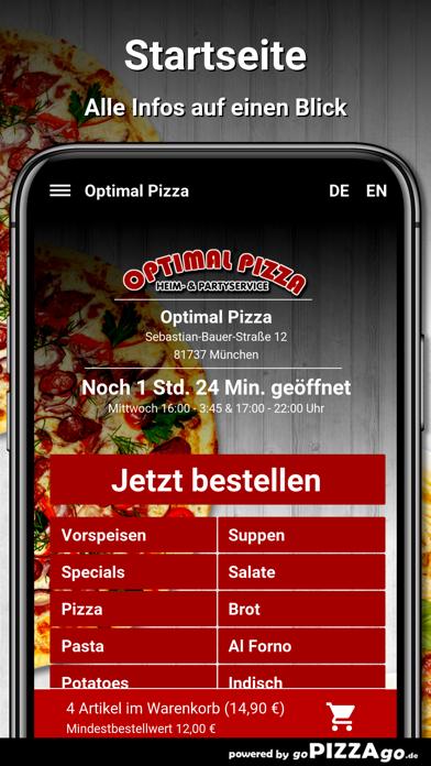 Optimal Pizza München screenshot 2