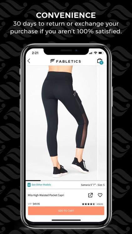 Fabletics: Premium Activewear screenshot-3