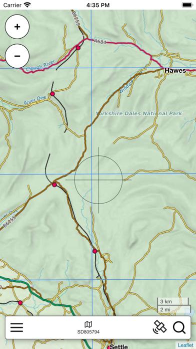 Yorkshire Dales Map screenshot 3