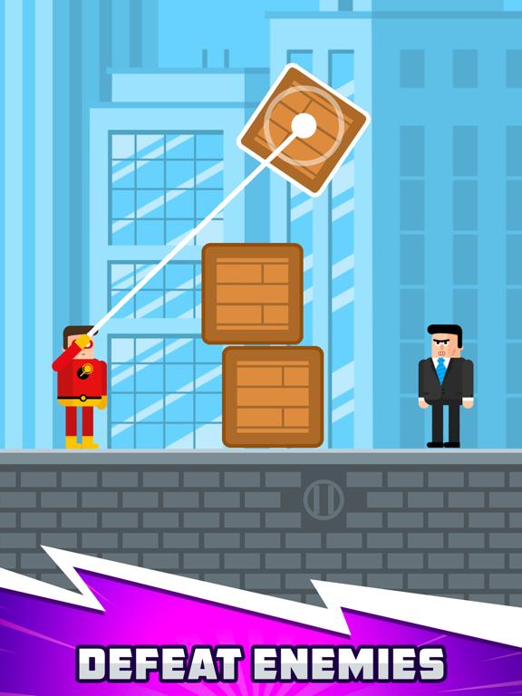 The Superhero League iPad app afbeelding 1