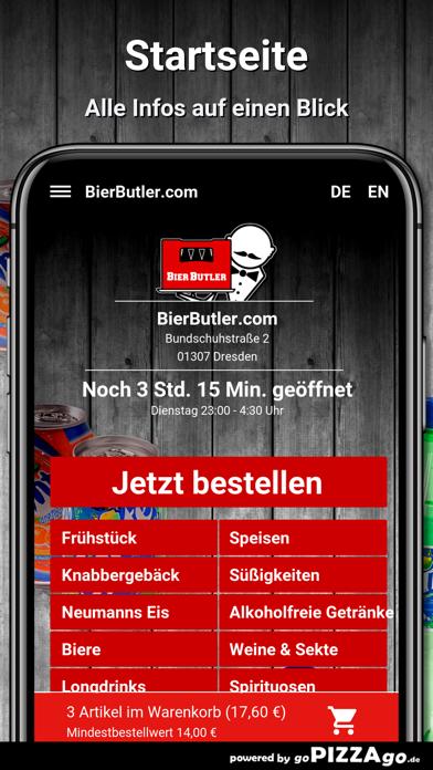 BierButler.com Dresden screenshot 2