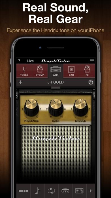 AmpliTube Jimi Hendrix™ ScreenShot0
