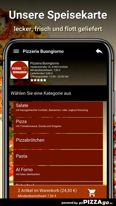 Pizzeria Buongiorno Krefeld screenshot 4